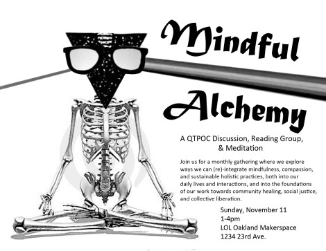 Mindful Alchemy flyer